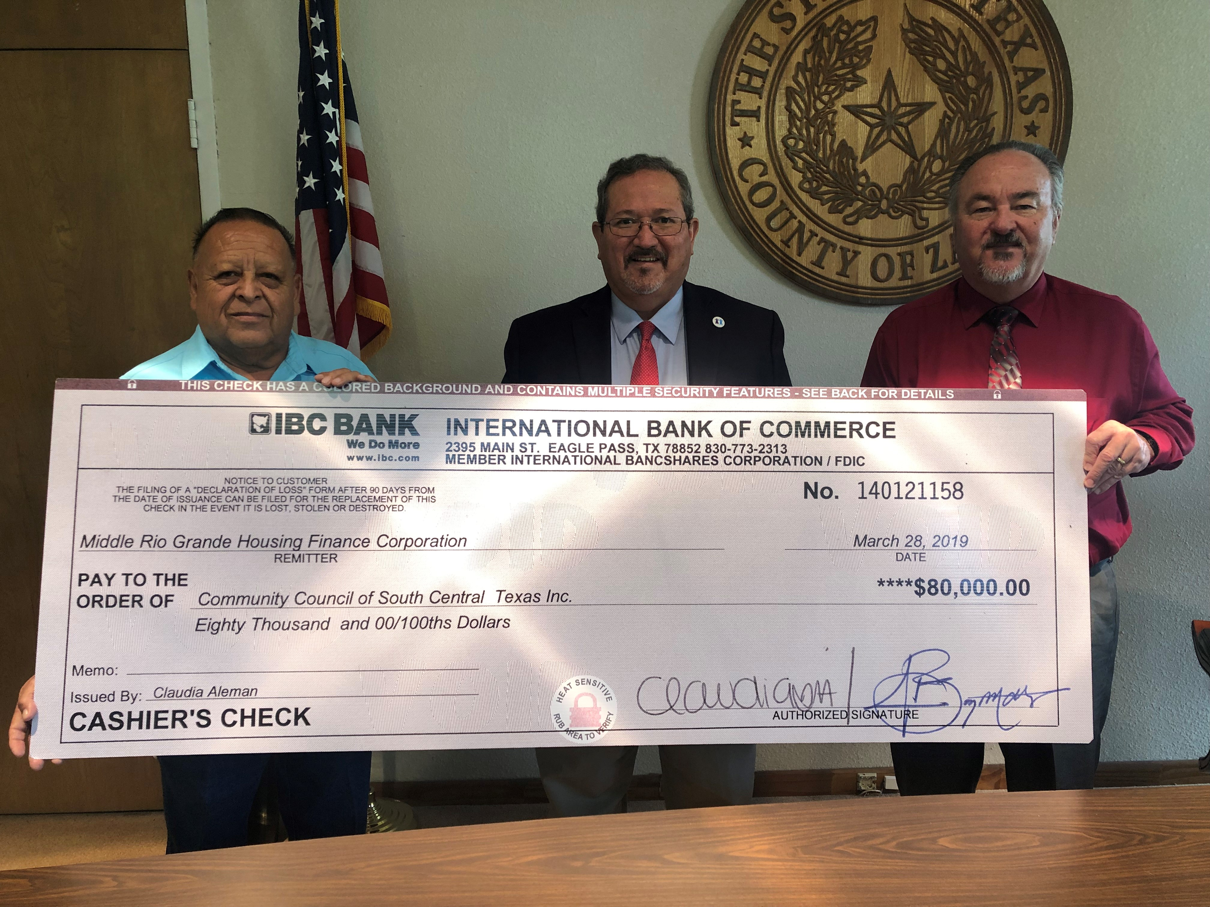 CCSCT Receives $80,000 for Housing Rehab in Zavala County